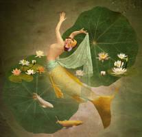 Dancing Mermaid I by JinxMim