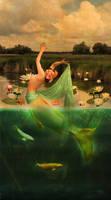 Dancing Mermaid II by JinxMim