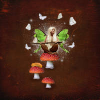 Fly Agaric Fae by JinxMim