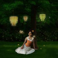 Beneath the Tree by JinxMim