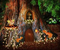 Tree House by JinxMim