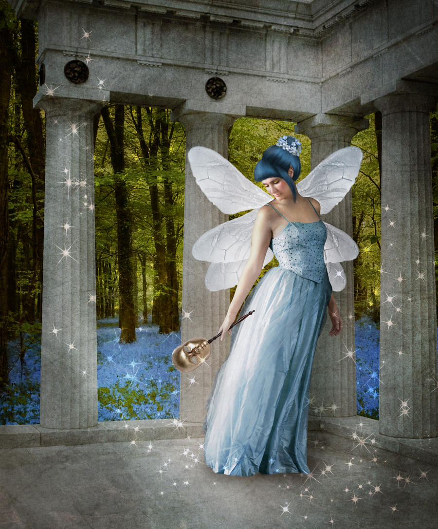 The Blue Fairy by JinxMim