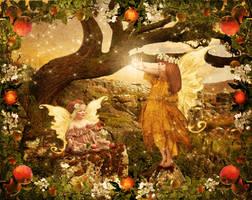 Apple Fairies by JinxMim