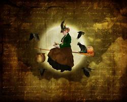 Victorian Witch by JinxMim