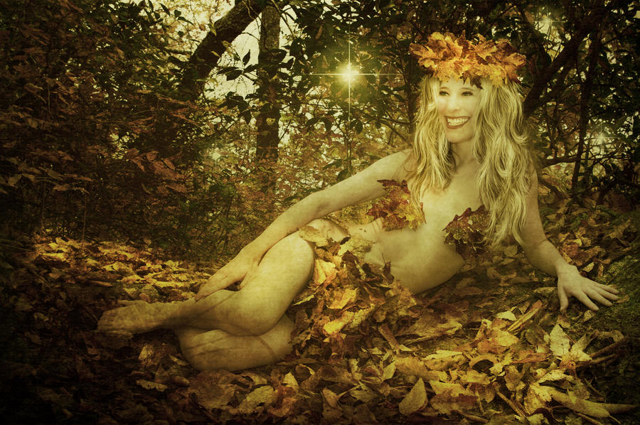 Autumn Dryad by JinxMim