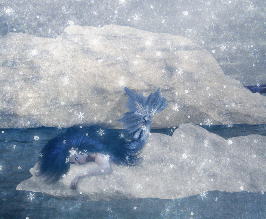 Ice Mermaid by JinxMim