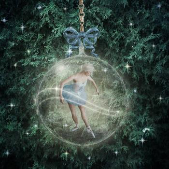 Ballerina Ornament by JinxMim