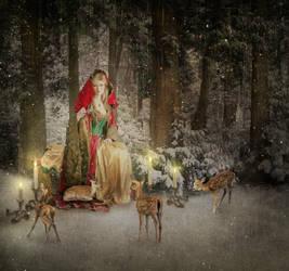 Mrs. Claus by JinxMim
