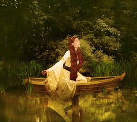 Lady of Shalot by JinxMim