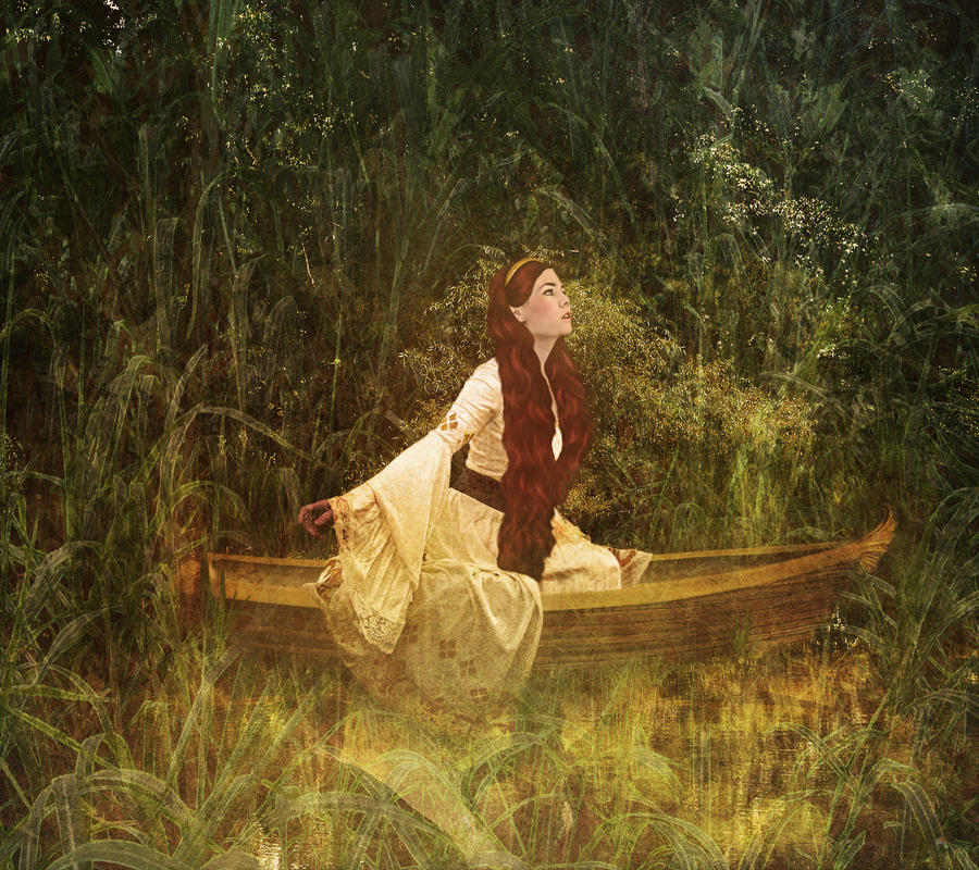 Lady of Shalott II by JinxMim