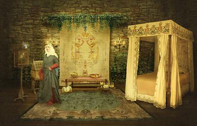 Medieval Bower by JinxMim