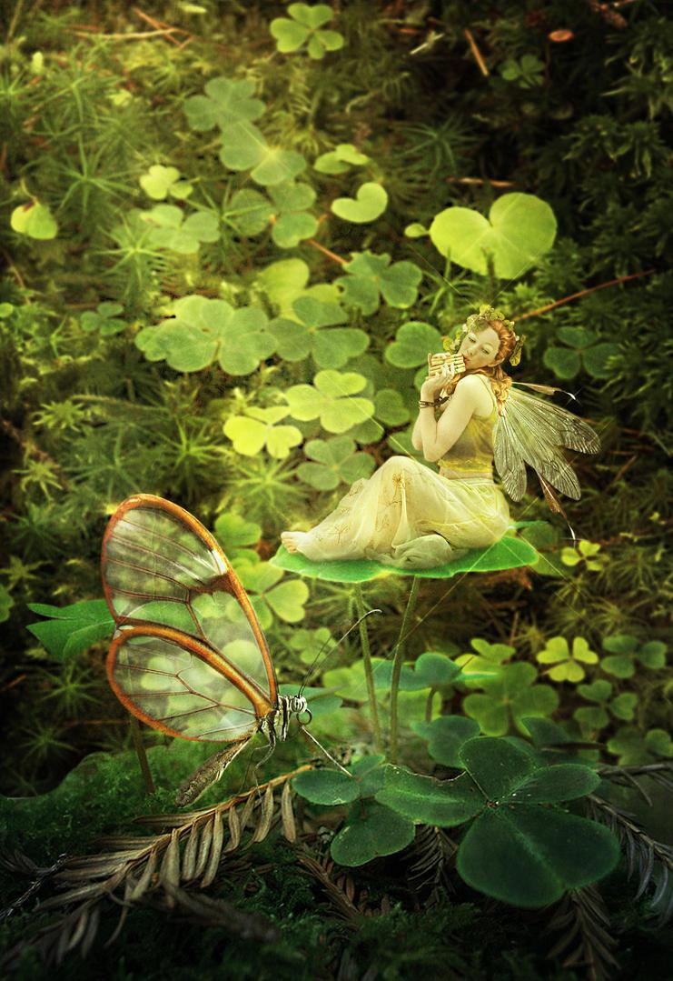 Irish Fae by JinxMim