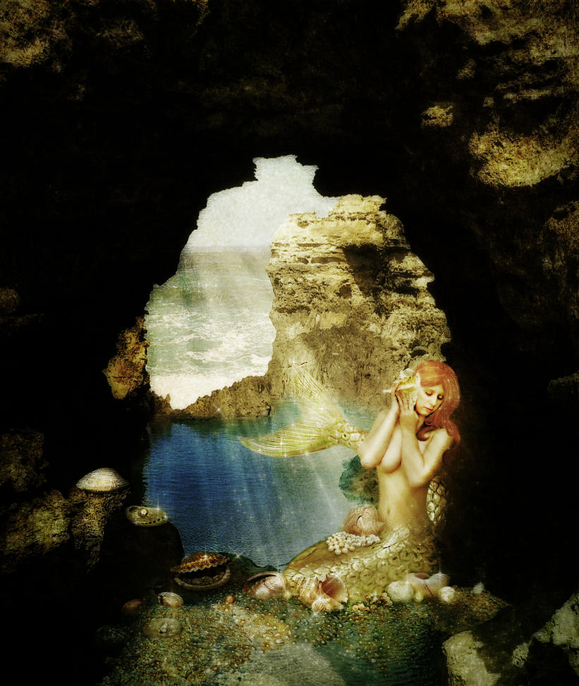 Mermaid's Grotto by JinxMim