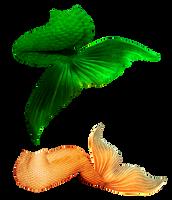 Mermaid Tails II by JinxMim