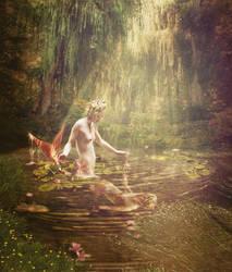 The Mermaid's Mirror II by JinxMim