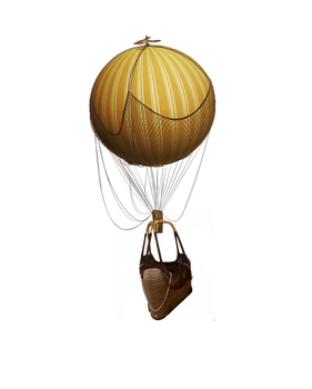 Hot Air Balloon Stock