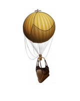 Hot Air Balloon Stock by JinxMim