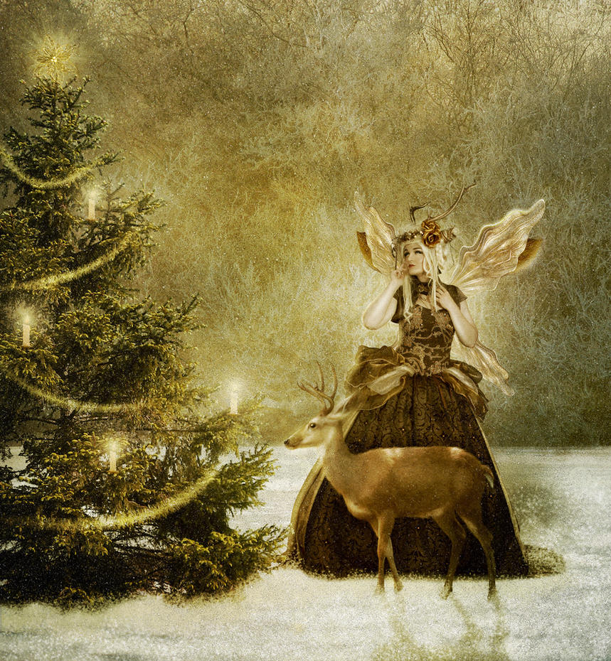 Christmas Fairy by JinxMim on DeviantArt