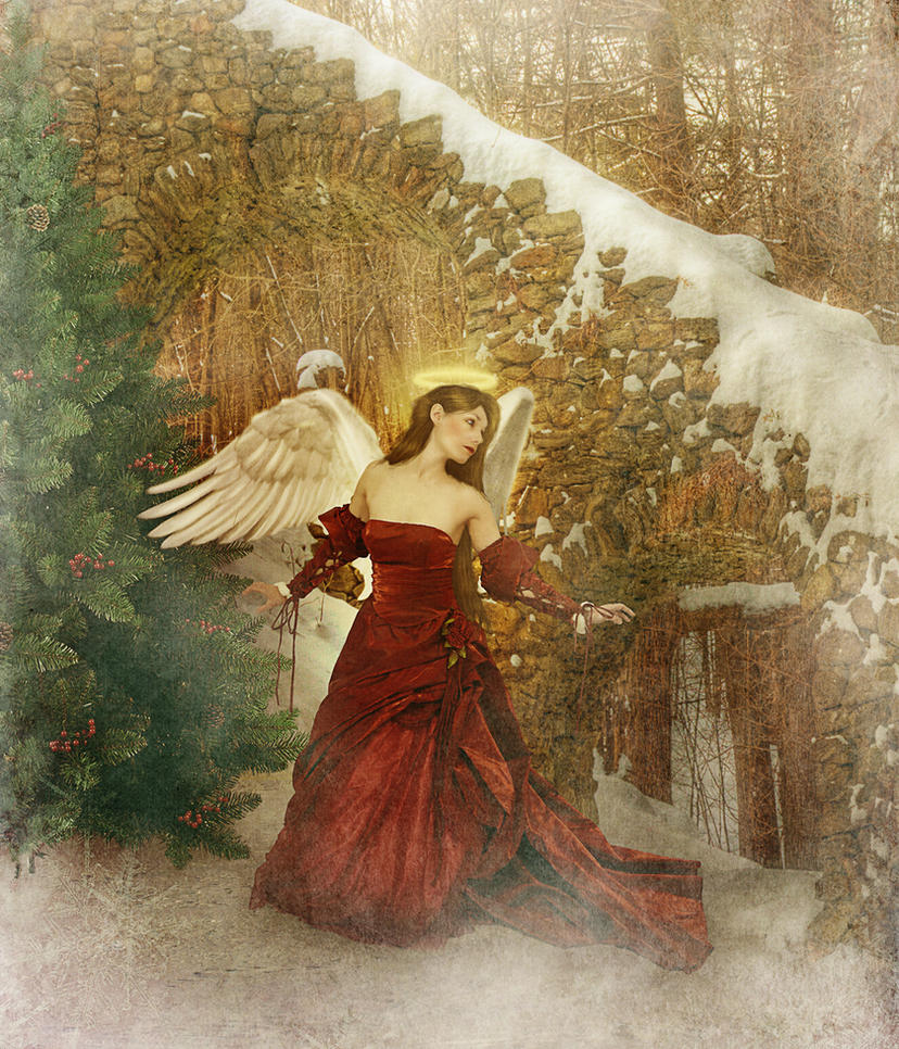 Christmas Angel by JinxMim on DeviantArt