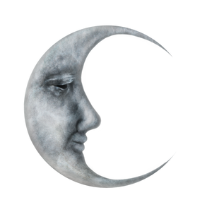Man in the Moon Stock