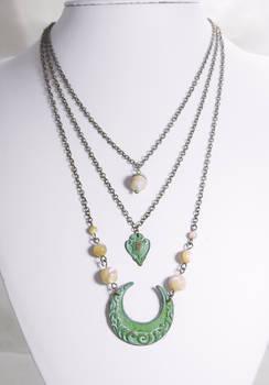 Art Deco Ocean Themed Necklaces