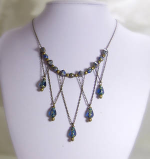 Victorian Style Statement Necklace