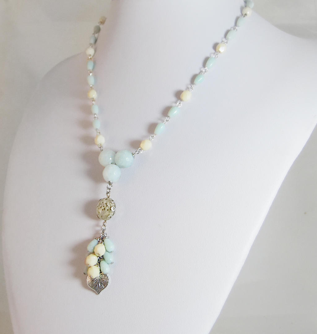 Shabby Chic Tassel Necklace by JinxMim