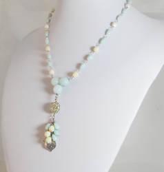 Shabby Chic Tassel Necklace