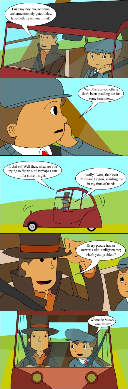 Professor Layton's Challenge by Mr-Page