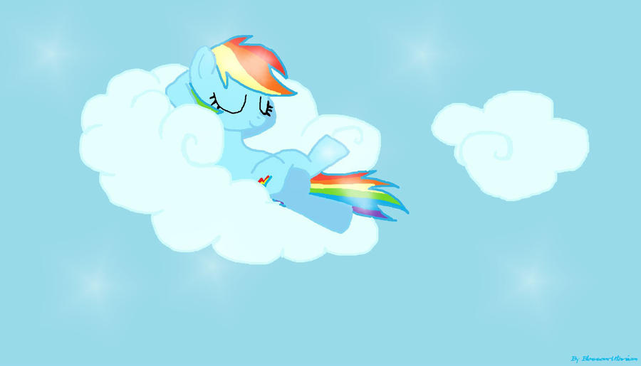 Rainbow dash by meimeix