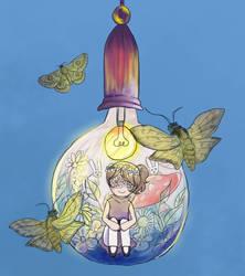 light bulb by meimeix