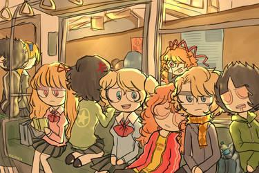 Metro by meimeix
