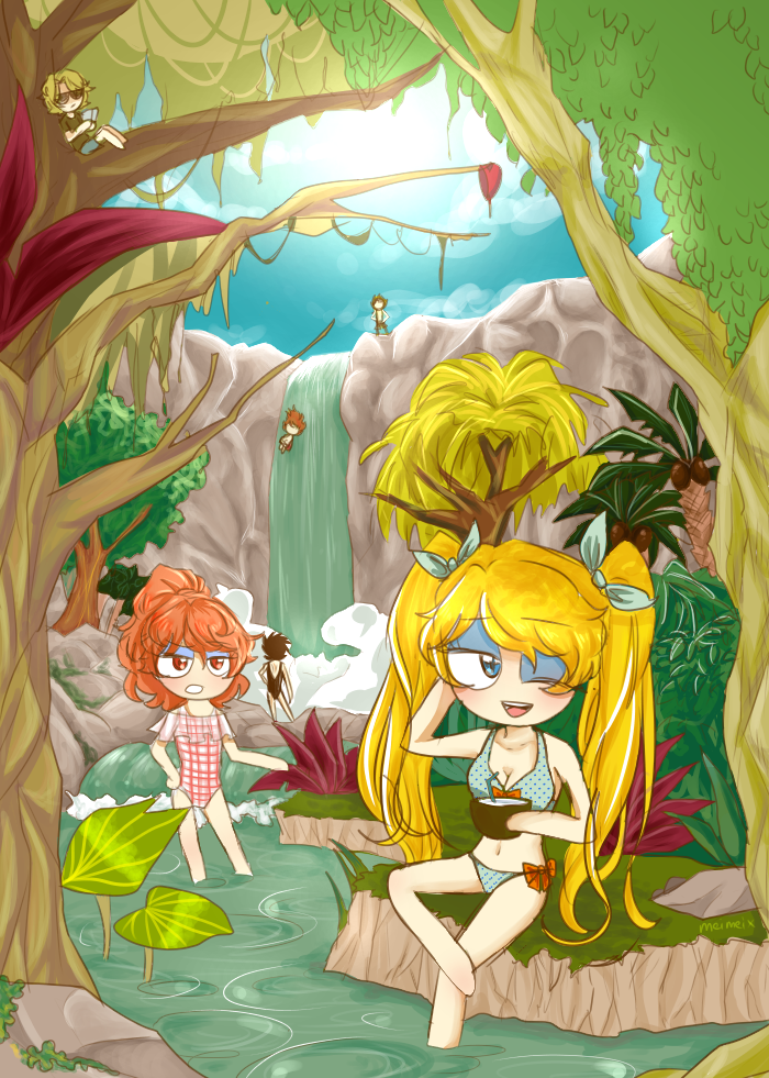 Summer time 2.0 by meimeix