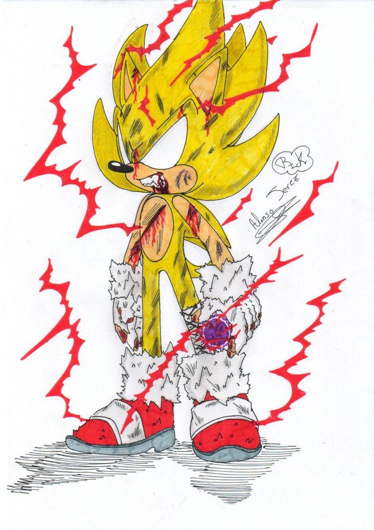 Rickhedgehog alonso deviantart - Super sonic 6 ...