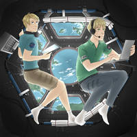 Space Researcher USUK by VictoriaWings