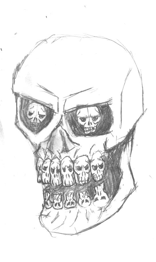 trevor millsaps skull pictures to pin on pinterest tattooskid. Black Bedroom Furniture Sets. Home Design Ideas