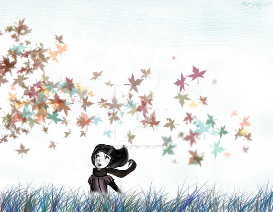 October Leaves by Bleedman-fan-Girl99