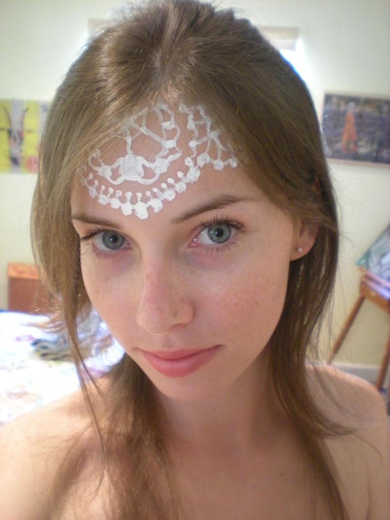 Face Lace by starbuxx