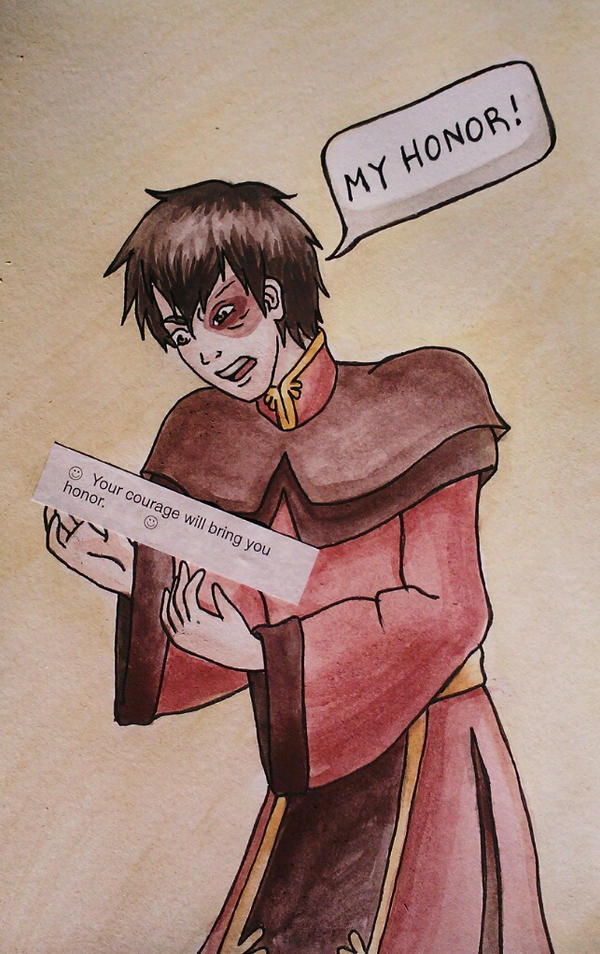 Zuko's Fortune Cookie by starbuxx