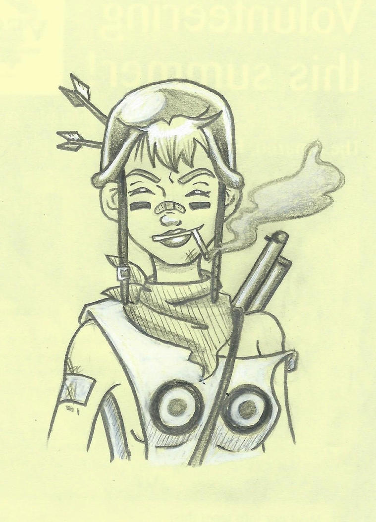 Tank Girl by starbuxx