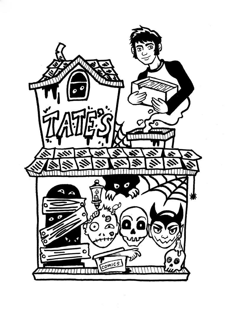 Spooky Tate's by starbuxx