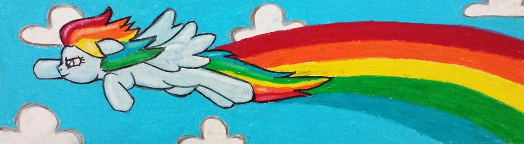 Rainbow Dash by starbuxx
