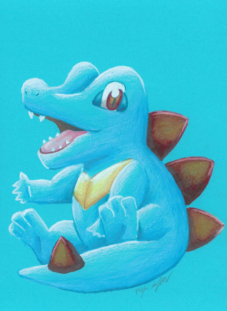 Totodile by starbuxx