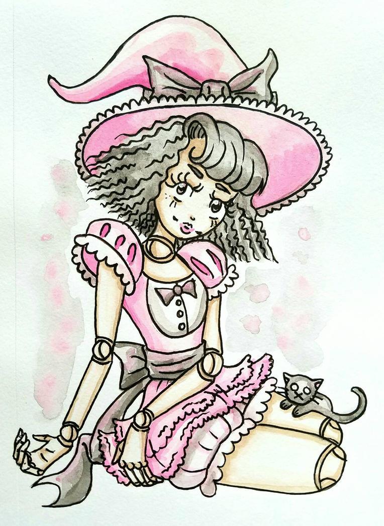 Dolly Witch  by starbuxx
