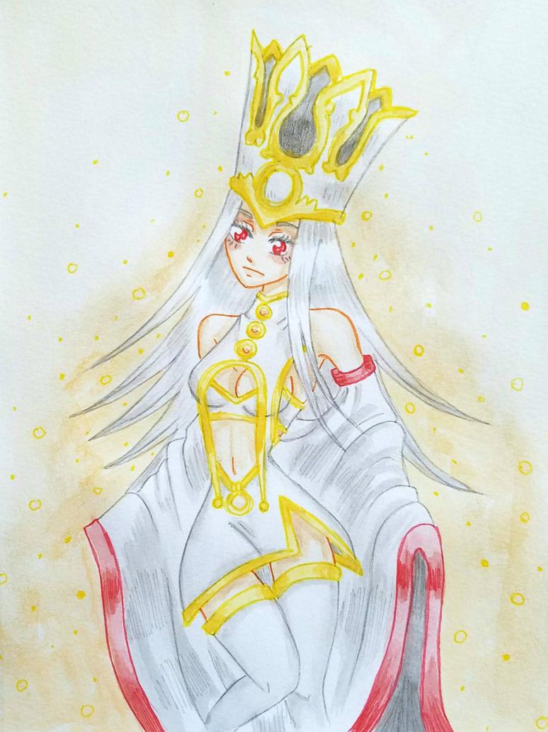 Goddess Illya by starbuxx