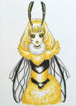 Queen Bee  by starbuxx