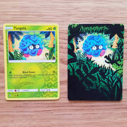 Pokemon Card - Tangela