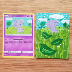 Pokemon Card - Espurr