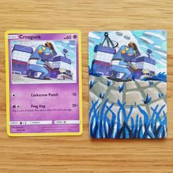 Pokemon Card - Croagunk