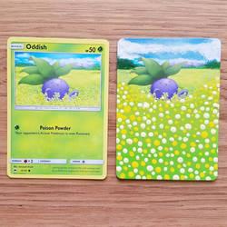 Pokemon Card - Oddish